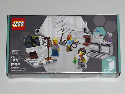 LEGO Ideas #008 Cuusoo 21110 Research Institute 3 Female Scientists New /& Sealed