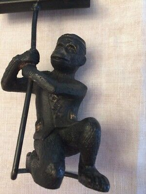 Business Card - Bronzed Monkey Bellman Holder 8""