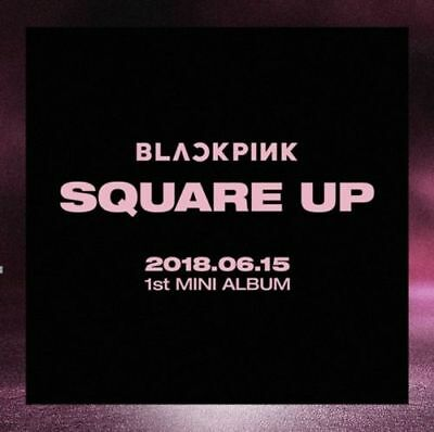 BLACKPINK - [Square Up] 1st MINI ALBUM: FULL PACKAGE + POSTER WITH TRACKING NUM