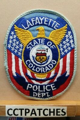 Lafayette, Colorado Police Shoulder Patch Co