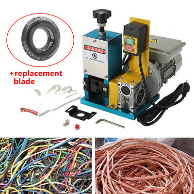 Portable Wire Stripping Machine Electric Metal Scrap Cable Stripper Recycle Tool