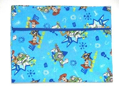 Buzz Light year Toddler Pillowcase on Turquoise  Cotton BL5-24 New Handmade
