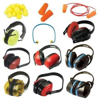 Safety Ear Protection Muffs Defenders Compact Folding Electronic Plugs