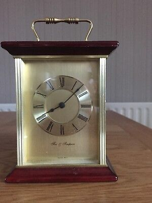Fox & Simpson Carriage Clock