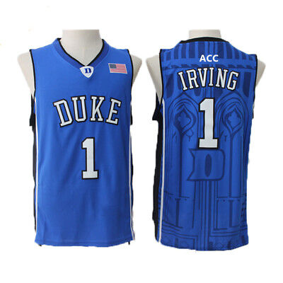887735edfe03 ... coupon code kyrie irving 1 duke blue devils jersey throwback retro basketball  jerseys blue 8e512 aabc6