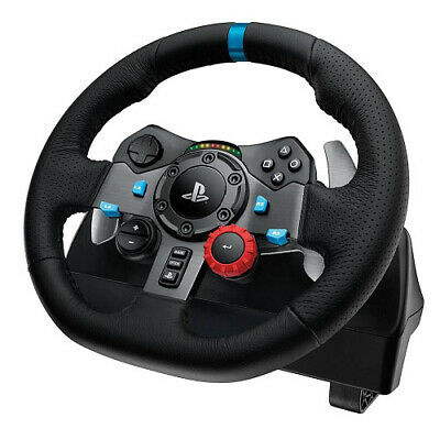 NEW JOLT-G29 941-000115, LOGITECH G29 DRIVING FORCE RACING WHEEL PS3 & PS4 .e.