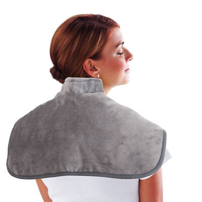 Comfy Neck & Shoulder Heating Wrap with Fast Heating Function Auto Shut Off