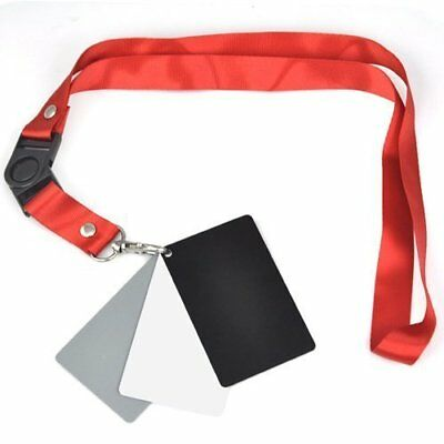 Accessotech 3 in 1 Digital 18% Gray/White/Black Card Set Photography ...