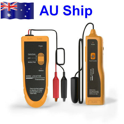 AU Ship KOLSOL F02 Underground Wire Locator Tracker With Earphone Cable Tester