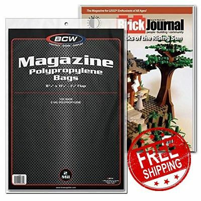 Collectible Magazine Sleeves Bags Pack Thickness Storage Protector Backing Board