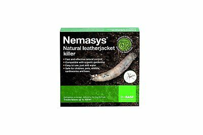 Nemasys leatherjacket killer 100sqm pack