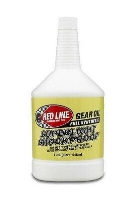 Redline Oil Superlight Shock Proof Gear Lube 75W90 1 qt P/N 58504