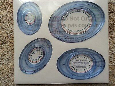 Scrapbooking Craft ~ Card Making Creative Memories Ovals Cutting System Pattern
