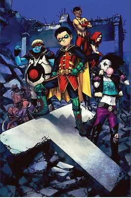 TEEN TITANS #20 (2018) Shirahama Variant NM  Presale 1st Full Crush 7/25/18