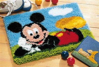 """Vervaco Knüpfteppichpackung """"Disney Mickey Mouse"""" PN-001472"""