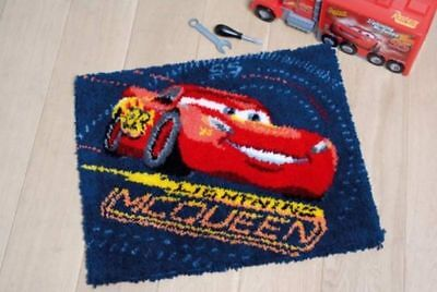 """Vervaco Knüpfteppichpackung """"Disney Lightning Mcqueen"""" Pn-0167517"""