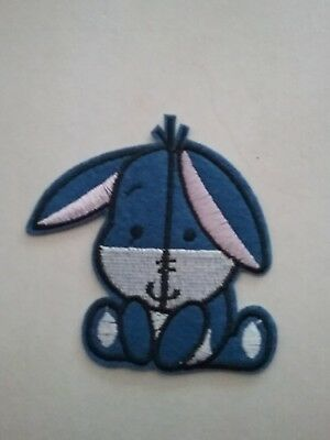 Baby Eeyore Embroidered Patch Iron-on