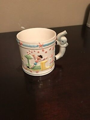 Vintage It's A Boy Circus Ceramic Coffee Mug
