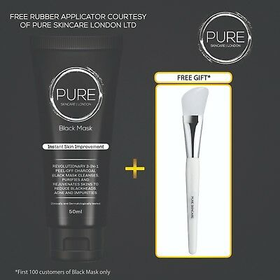 Blackhead Remover Black Mask Deep Cleansing Charcoal Mask | Free Applicator