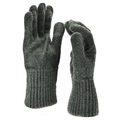 Genuine Swiss army military gloves Liners wool warmers Military issue Surplus