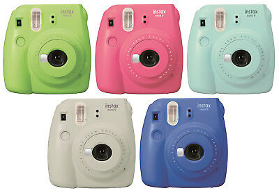 FujiFilm Instax Mini 9 Camera Bundle*50 Shots*Case*Film Album*OFFICIAL UK STOCK*