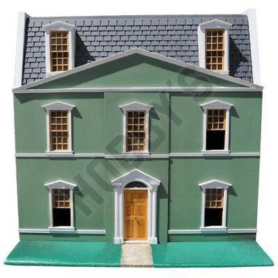 12th SCALE DOLLS HOUSE PLAN TO MAKE A REGENCY HOUSE ~ INSTRUCTION SHEETS x 2