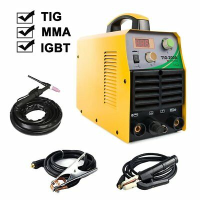 TOSENBA TIG Welding Machine Welder MMA ARC Stick IGBT DC Inverter 200Amp 220V