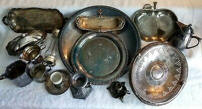 Antique / Vintage Mixed Silverplate Lot