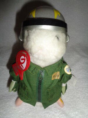 Hamster Military Captain Dances Sings Air Force Song Wild Blue Yonder 2003 Gemmy