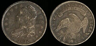 1836 50¢ Lettered Edge Capped Bust Half Dollar!!!