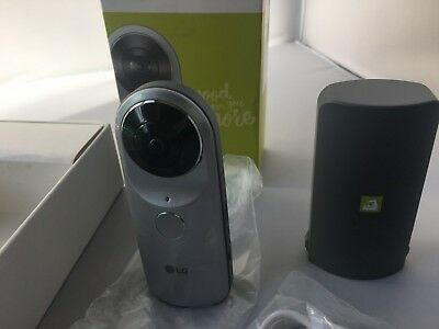 LG 360 CAM Spherical Camera Wide-Angle 2K Video *new*