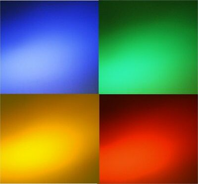 New 9 X 9 Transparent Color  Lighting Gel Filter - Set of 20