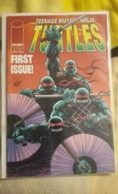 image comics ninja turtles #1 - Mint condition sealed boarded - Collectors piece