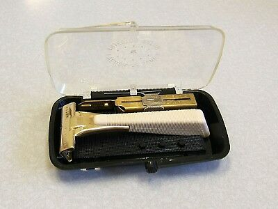 Vintage Schick Injector Type I 1950'S Safety Razor Set