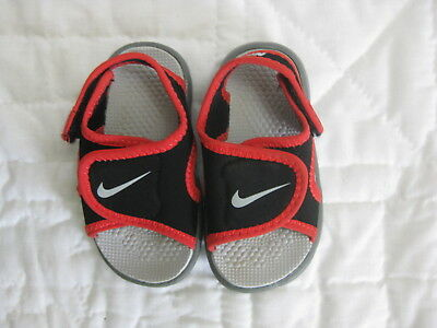 e079bcfc1233 Nike Sunray Black Water Sandals Size 5 Child Toddler Boys Shoes Trek  Adjustable