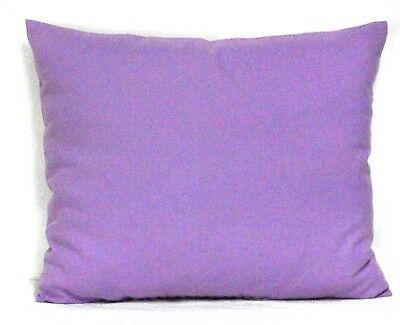 Toddler Pillow on Solid Violet Color Cotton V38-3 New Handmade