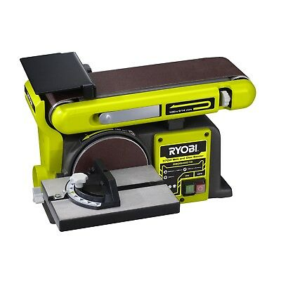 RYOBI DUAL SANDER Belt & Disc Adjustable Sanding Antivibration Bench Mountable