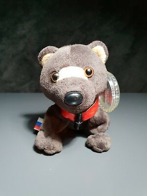 """Coca Cola International Collection #0235 """"Barris"""" Russia Bear Plush Toy 1999"""