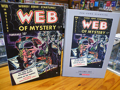 Ps Artbooks, Web Of Mystery Vol 1, 2018 Hardcover 1St