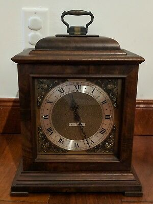 Seth Thomas Mantle Clock LEGACY 2e Electric Westminster Chime Carriage Bracket