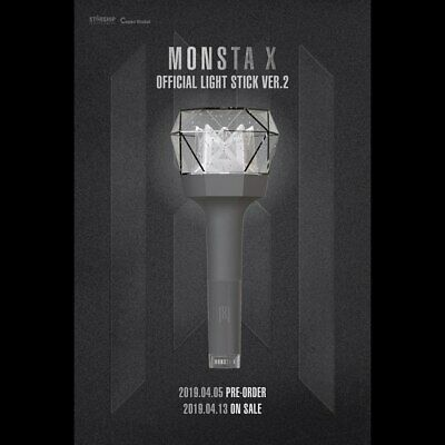 Monsta X - Monbebe Official Light Stick With Tracking Num, Sealed