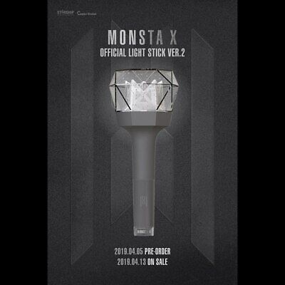 [Pre-Order] Monsta X - Monbebe Official Lightstick Ver 2 With Tracking, Sealed