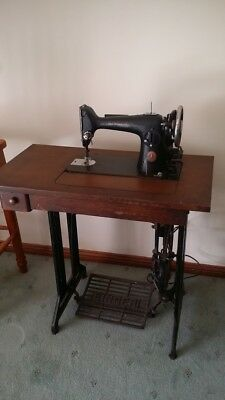 Singer Treadle sewing machine antique from Great Britain