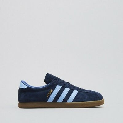 new styles 88486 d0999 adidas BERLIN Navy Blue Gum Mens Trainers Shoes UK 9 EU 43 1 3 US