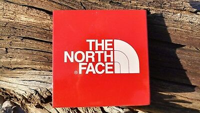 North Face Mini METAL SIGN Display Advertising Sign