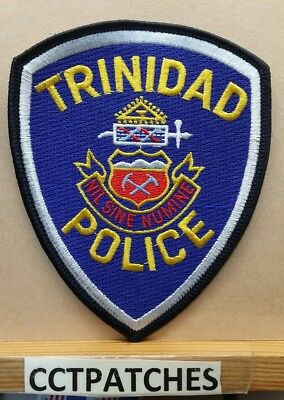 Trinidad, Colorado Police Shoulder Patch Co