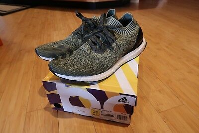 668f8fc28e82c ADIDAS ULTRA BOOST Uncaged olive green men s size 13 -  130.00 ...