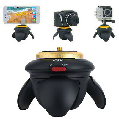 Metal Photography Camera Tripod 360 Degree Rotating Panoramic Ball Head + Remote