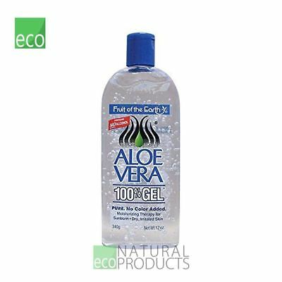 Fruit Of The Earth Natural Aloe Vera 100% Gel 340g