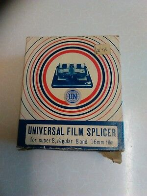 Vintage Universal Cine Film Splicer in Box - 8mm & 16mm (799)